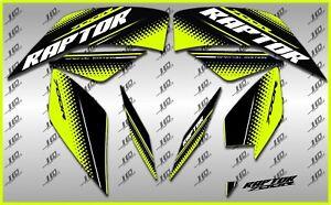 2020 YAMAHA RAPTOR 700R SE full graphics kit  THICK AND HIGH  GLOSS