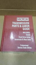 Motor Transmission Parts & Time Guide 1993-2001