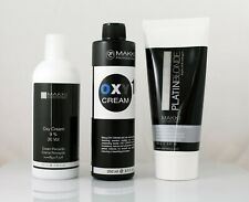 Makki Pelo Super Kit Blanqueador Platino Rubio Cuidado + Oxy Crema Peróxido de hidrógeno