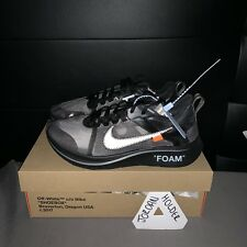 Nike X Bianco Sporco ZOOM FLY Virgil abloh Nero UK 8 c2ad508e271
