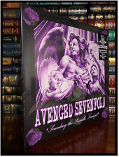 Avenged Sevenfold Sounding Seventh Trumpet Sealed Limited Purple Clear LP 1/500