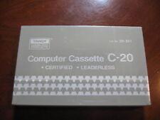 12 x TRS-80/Tandy Blank Computer Data Cassette C-20 - Catalog #26-301