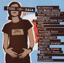 Punk-O-Rama - 7 (CD, 2002 Epitaph 86646-2) Fully Tested