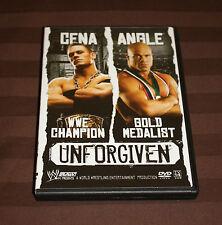 Wwe Unforgiven 2005 (Dvd, 2005) John Cena Kurt Angle