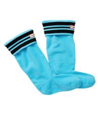 Hunter Womens Sky Black Sport Rib Boot Sock Sz M 6512