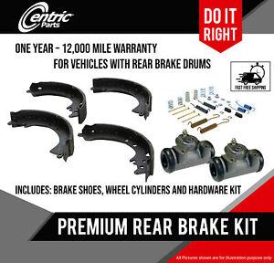 Centric Brake Shoes Hardware and Wheel Cylinders for Suzuki Samurai