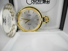 Watch W/Date New Reduced Colibri Twotone Silver Face Pocket