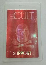 The Cult Laminated Backstage Pass Support Hologram