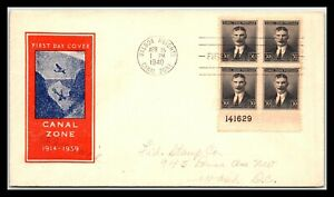 GP GOLDPATH: PANAMA COVER 1940 FIRST DAY COVER _CV752_P15