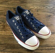Converse All Star Chuck Taylor Mesh Navy Blue Classic Sneakers New Sz10