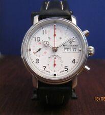 RARE ! Superbe REVUE THOMMEN chrono suisse automatic Spécial Edition SWISS acier