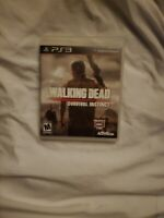 The Walking Dead: Survival Instinct (Sony PlayStation 3, 2013) PS3 works great