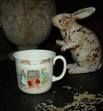 Royal Doulton School Room Theme Child's Drinking Fine China Bunnykins Cup mug