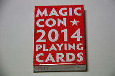 1 deck Magic Con 2014 playing cards (Dent Sale)