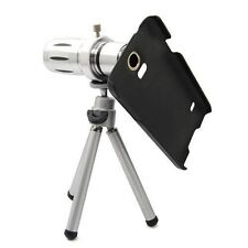 12X Optical Zoom Lens Camera Telescope Hard Case Cover For Samsung Galaxy S5 Sv