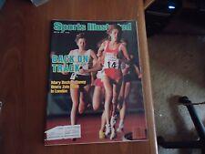 Sports Illustrated 1985 Mary Decker Slaney/ Zola Budd Cover/ Brit. Open/Leonard