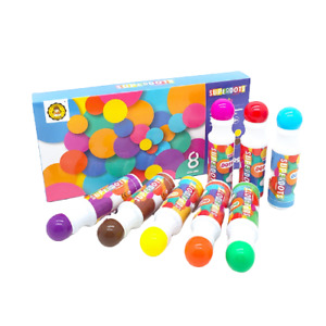 Dot Markers Non Toxic Washable Paintart for Kids, (Classic Colours 8 Pack)