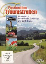 FASZINATION TRAUMSTRASSEN - DEUTSCHLAND, ÖSTERREICH, SCHWEIZ / 3 DVD-SET - NEU