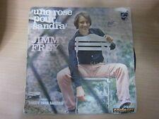 """45 tours 7"""" - JIMMY FREY - """" UNE ROSE POUR SANDRA  """"- REF G"""