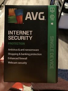 AVG Internet Security 2020 ~ 1 PC ~ 1 Year Subscription ~ Retail Box Download