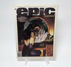 Epic Illustrated #18 (June 1983) - Marvel Magazine Fantasy & Sci Fi