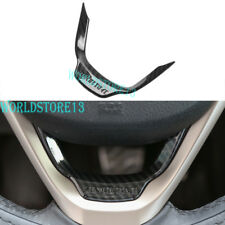 Carbon fiber Steering Wheel Cover Trim For Cherokee Jeep Grand Cherokee 2014-18