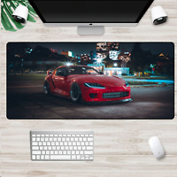 XXL Gaming Mauspads Groß Auto Tuning Supra Mausunterlage Computer PC Mousepad