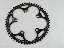"""Zeus 2000 Chainring 53T Drilled 3/32"""" Black Anodized 119 Bcd Road Bike NOS"""