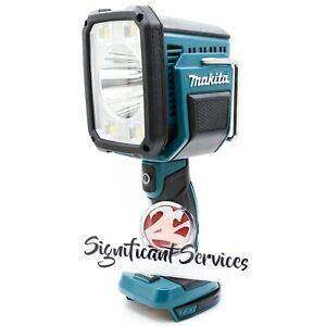 New Makita DML812 LXT 1250 Lumens Cordless L.E.D. Spotlight Flashlight Cordless