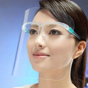 2x 3x 5x 10x Full Face Shield Cover Anti Fog Screen Transparent HD Clear Visor