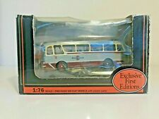 🚌 Vintage Diecast EFE 12302 Grey Cars Harrington,Grenadier Bus/Coach DARTMOOR
