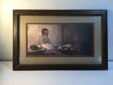 Framed Andrew Wyeth print : That Gentleman