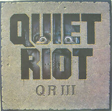 "QUIET RIOT "" Q R III ""  lp Holland near mint"