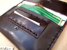 Rolling Tobacco Pouch Leather handsewing made in Italy!