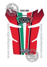 Ducati 848 1098 1198 Red Motorcycle Tank Pad Tankpad Motografix 3D Gel Protector