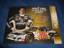 2007 GREG BIFFLE #16 AMERIQUEST NASCAR POSTCARD