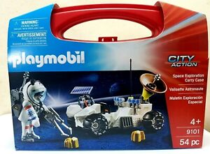 Playmobil City Action 9101 Space Exploration Carry Case Brand New
