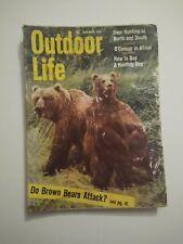 November 1958 Outdoor Life Hunting Fishing