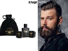 Exquisite Mini Beard Kit - Beard Balm 30ml, Beard Oil 30ml, Beard Wax 30ml