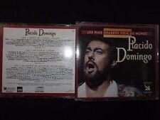 COFFRET 3 CD PLACINDO DOMINGO / LES PLUS GRANDES VOIX DU MONDE /