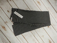 NWT! Margaret M Slimming Pants For Stitch Fix - BLACK CHECKERS - X-Large