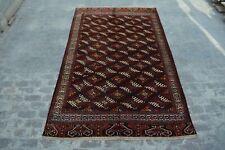 Master piece hand knotted Turkoman yamood drynak gul rug / 100% wool Decorative