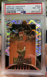 1999 UD HOLOGrFX Michael Jordan Maximum Chicago Bulls NBA GOAT PSA 8 Card #mj2