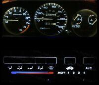 White LED Cluster + Climate Control Combo Bulb KIT for Honda Civic EG 1992-1995