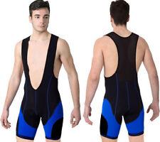 Shorts et cuissards bleus pour cycliste