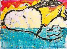 """Tom Everhart """"Bora Bora Boogie Oogie""""  Lithograph Rare Snoopy Art"""