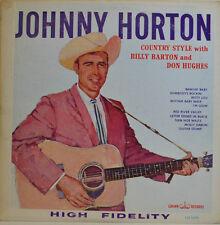 """JOHNNY HORTON - HAUT FIDELITY - CROWN RECORDS CLP 5290 12"""" LP (X 253)"""