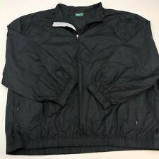 Ben Hogan Performance Quarter Zip Jacket Mens XXXL Black Long Sleeve Casual Golf