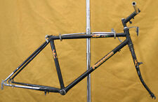 "Panasonic MC-7500 Vintage Mountain Bike Frame 16"" Touring RASTA U-Brake Charity!"