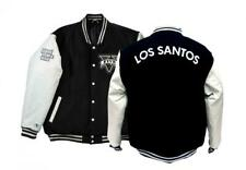 Grand Theft Auto V Official Leather Varsity Jacket Small